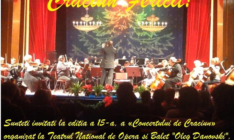 Invitatie Concert de Craciun
