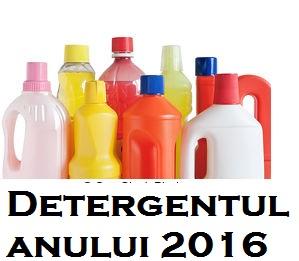 Detergentul anului 2016